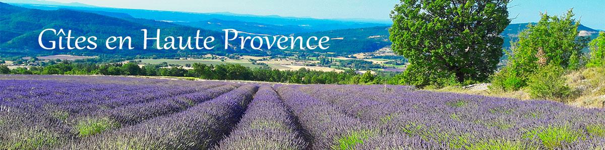 Location de gîtes en Haute Provence